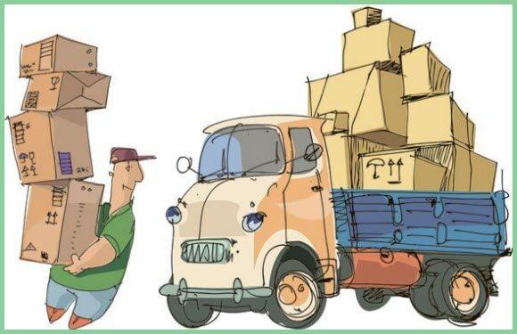 разгрузка грузовика