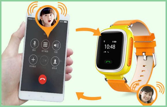 Смартфон и детские смарт часы